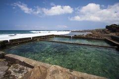 Paesaggio dell'oceano Fotografia Stock Libera da Diritti