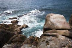 Paesaggio dell'oceano Fotografie Stock Libere da Diritti