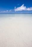 Paesaggio dell'oceano nell'Oceano Indiano Fotografia Stock