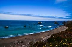 Paesaggio dell'oceano, vista Fotografia Stock Libera da Diritti