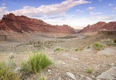Paesaggio dell'Utah Fotografia Stock