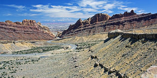 Paesaggio dell'Utah, S.U.A. Fotografia Stock Libera da Diritti
