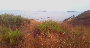 Paesaggio della baia fotografia stock libera da diritti