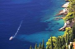 Paesaggio della barca fotografia stock libera da diritti