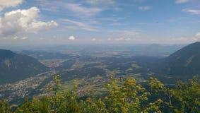 Paesaggio della Baviera Immagine Stock