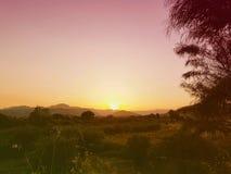 Paesaggio della Calabria Fotografia Stock