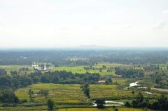 Paesaggio della campagna della Tailandia Fotografia Stock