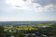Paesaggio della campagna della Tailandia Fotografia Stock Libera da Diritti