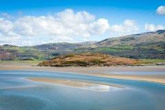 Paesaggio della campagna di Snowdon Fotografia Stock