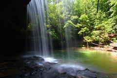 Paesaggio della cascata dell'Alabama immagini stock libere da diritti