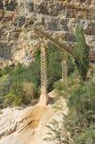 Paesaggio della cava fotografie stock