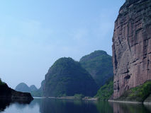 Paesaggio della Cina Fotografia Stock