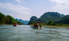 Paesaggio della Cina Guilin Immagini Stock Libere da Diritti