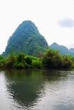 Paesaggio della Cina Guilin Fotografia Stock Libera da Diritti