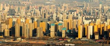 Paesaggio della Cina moderna Immagini Stock Libere da Diritti