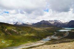 Paesaggio della Cina Tibet Immagini Stock