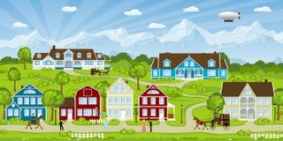 Paesaggio della città Immagine Stock Libera da Diritti