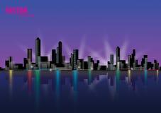 Paesaggio della città illustrazione di stock