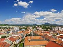 Paesaggio della città Fotografia Stock