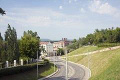 Paesaggio della città del Samara Fotografia Stock Libera da Diritti