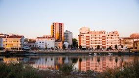 Paesaggio della città di Barreiro Fotografie Stock