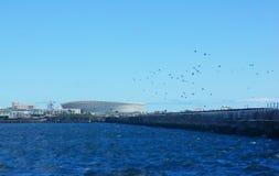 Paesaggio della città di Cape Town Immagine Stock