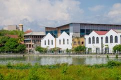 Paesaggio della città di Colombo Sri Lanka immagine stock