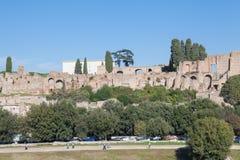 Paesaggio della città di Roma Fotografie Stock Libere da Diritti