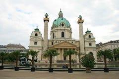 Paesaggio della città di Vienna fotografia stock libera da diritti