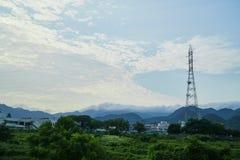Paesaggio della città di Yamaguchi Fotografie Stock Libere da Diritti