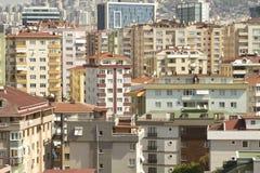 Paesaggio della città Disordine della città Fotografie Stock
