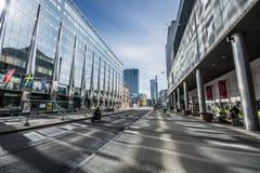 Paesaggio della città, Tallinn, Estonia Immagine Stock Libera da Diritti
