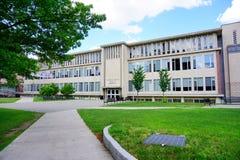 Paesaggio della città universitaria Immagine Stock
