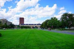 Paesaggio della città universitaria Immagine Stock Libera da Diritti