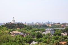 Paesaggio della città Vista della parte settentrionale del capitale fotografia stock libera da diritti