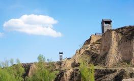 Paesaggio della città antica Immagine Stock Libera da Diritti