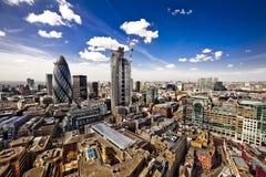Paesaggio della città di Londra Fotografie Stock Libere da Diritti