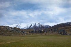 Paesaggio della collina del castello la maggior parte della destinazione di viaggio famosa in AR Fotografia Stock Libera da Diritti