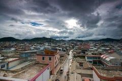 paesaggio della contea della Shangri-La, yunnan, porcellana Fotografia Stock