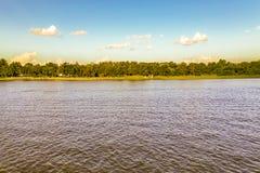 Paesaggio della corrente di Solis, Canelones, Uruguay immagine stock libera da diritti