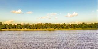 Paesaggio della corrente di Solis, Canelones, Uruguay immagine stock