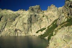 Paesaggio della Corsica - Restonica Immagine Stock Libera da Diritti