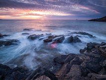 Paesaggio della costa fotografia stock