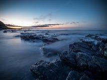 Paesaggio della costa immagini stock