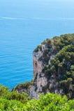 Paesaggio della costa della Sardegna Immagine Stock