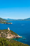 Paesaggio della costa della Sardegna Immagini Stock