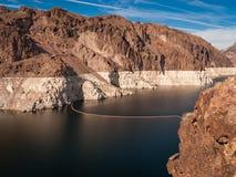Paesaggio della diga di aspirapolvere Immagine Stock
