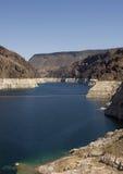 Paesaggio della diga di Hoover Fotografia Stock Libera da Diritti