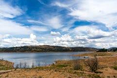Paesaggio della diga di Wayangala Fotografia Stock
