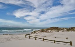 Paesaggio della duna Immagine Stock Libera da Diritti